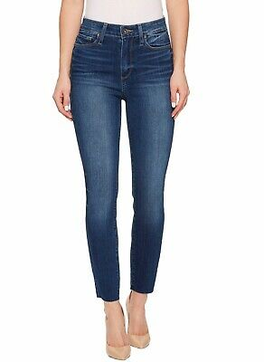 31 Black NWT Agolde Sophie High Rise Skinny Crop Jeans In Princeton Destruct 28