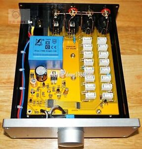 Finished-Relay-Volume-controller-Balanced-Potentiometer-Balanced-preamp