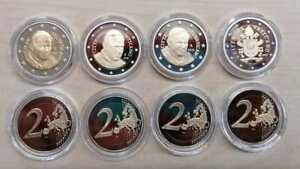 Vatican Pièce de Monnaie Pp (Choisissez Entre Les Années : 2002 Jusqu'À 2020)