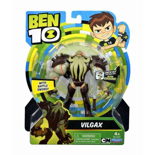 "Vilgax 5/"" Inch Action Figure-Bataille épée-Ben 10 Cartoon Network #76114"