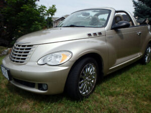 2006 PT CRUISER TURBO GT CONVERTIBLE