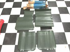 1970-72 LINCOLN CONTINENTAL SEDAN & COUPE  FRONT & REAR FLOOR MATS NOS FORD 117