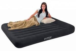 Intex Letto Materasso Gonfiabile.Intex Letto Materasso Gonfiabile Matrimoniale Campeggio Air Bed