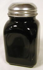 Black Milk Glass Stove Top Spice Shaker