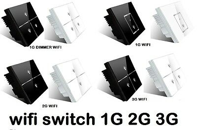 LIGHT SWITCH HOME AUTOMATION ON OFF WIFI 3G 4G LTE IPHONE ANDROID APP night