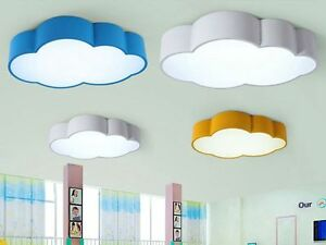 Image Is Loading Creative Acrylic Cloud LED Ceiling Lamp Kids Bedroom