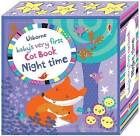 Baby's Very First Cot Book Night Time by Fiona Watt (Rag book, 2016)