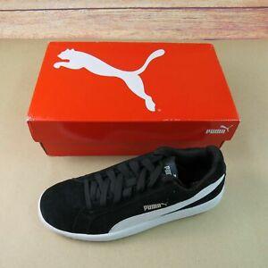 Puma Smash SD Size 10 Black and White