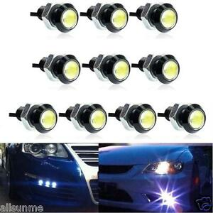 10x-dc12v-9w-Eagle-Eye-LED-Daytime-Running-DRL-Backup-Licht-Car-Auto-Lampe-Weiss