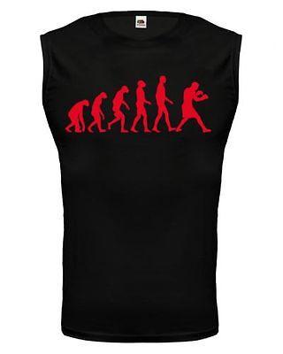 Shirts & Hemden Muskelshirt ärmellos Tank Top The Evolution Of Boxing Boxen Boxsport Kampfsport Weich Und Rutschhemmend
