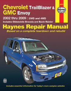 2002 2009 trailblazer envoy bravada rainier repair service shop rh ebay com 2011 Chevrolet Impala Repair Information 2005 Chevy Truck Repair Manual