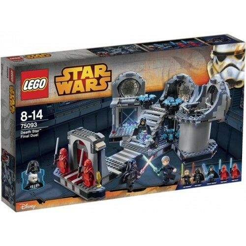 LEGO 75093 STAR WARS AUF DUELL FINALE DER DEATH STAR NEU