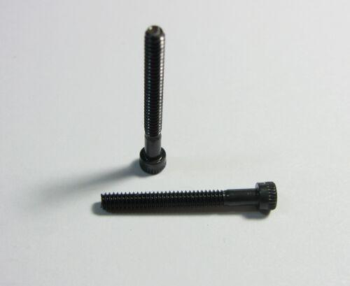 "8 4-40 X 1/"" Socket Head Cap Screw Black Oxide Qty"