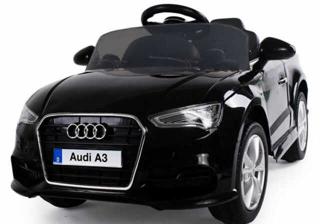 bc537792967b KIDS RIDE ON AUDI A3 LICENSED 12V CAR REMOTE CONTROL TWIN MOTOR BATTERY CARS
