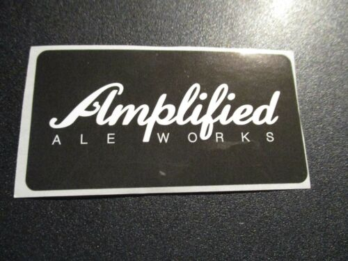 AMPLIFIED ALE WORKS San Diego Cali STICKER decal craft beer brewing brewer