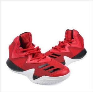 c8451f711177 Adidas Crazy Team 2017 Men s Basketball Shoes B49400 RED Size 8