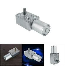 Dc 12v 2rpm Electric High Worm Geared Motor Reversible Reduction Motor 6mm Shaft