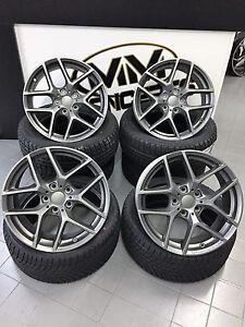 16 Zoll Borbet Y Felgen VW Polo GTI WRC Cross 6R 6N Fox Golf 4 IV Bora Alufelgen