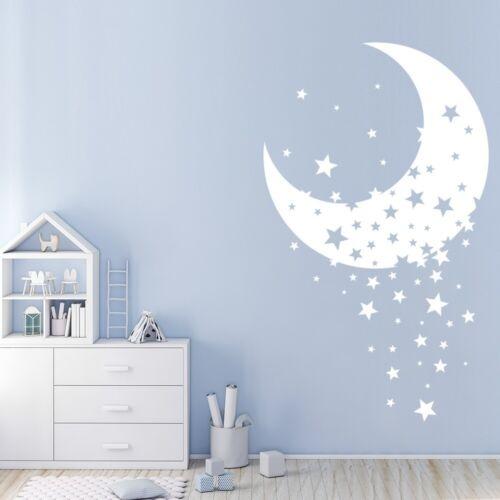 Estrella centellante Cuarto de luna Vinilos WS-44158