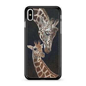 Beautiful-Brown-Spotted-Adorable-Giraffe-Cute-Animal-Family-2D-Phone-Case-Cover