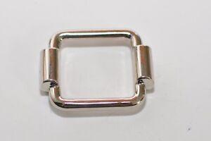 Zierteil-Zierschnalle-Metall-Trachten-Applikation-24-mm-Breite-silber-rostfrei