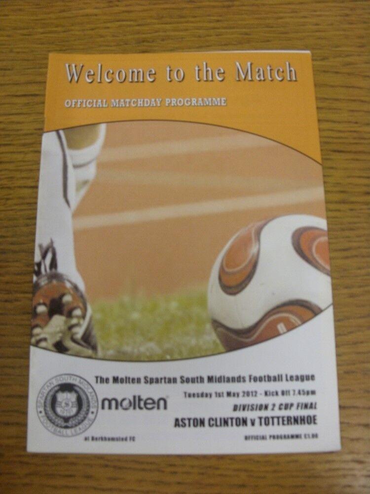 Image 1 - 01-05-2012-Spartan-South-Midlands-League-Division-2-Cup-Final-Aston-Clinton-v-T
