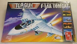 AMT-1-72-F-14A-Top-Gun-The-Movie-Tomcat-Jet-Fighter-887-Model-Kit