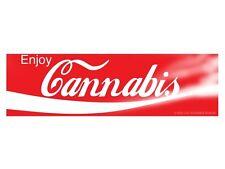Enjoy Cannabis (Bumper Sticker)