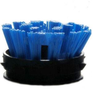 100 x Ersatzbürsten für Gummimatten Blau Bürsteneinsätze Bürsteneinsatz Bürsten