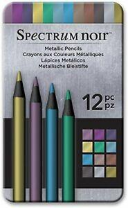 x Black Card Spectrum Noir Colorista Dark-Bookmark Pencil Pad-Floral Bouquet
