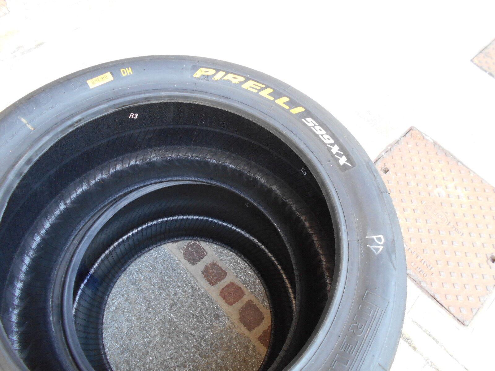 PIR002 CAUCHO RUEDA FERRARI 599XX TRASERO PIRELLI