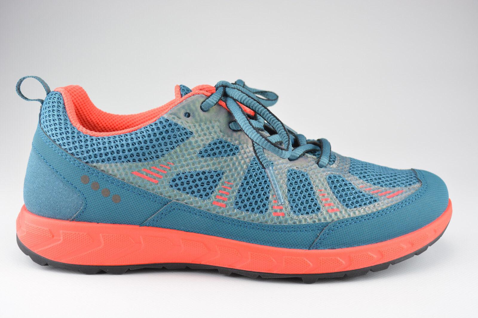 Ecco Zapatos Zapatos Zapatos señora con cordones terratrail petrol  marcas en línea venta barata