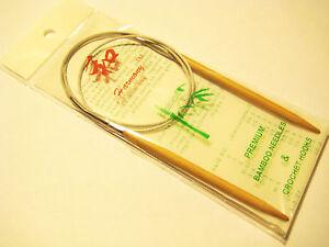 "Takumi Bamboo Circular Knitting Needles 16/"" Size 10.5//6.5mm 051221251610"
