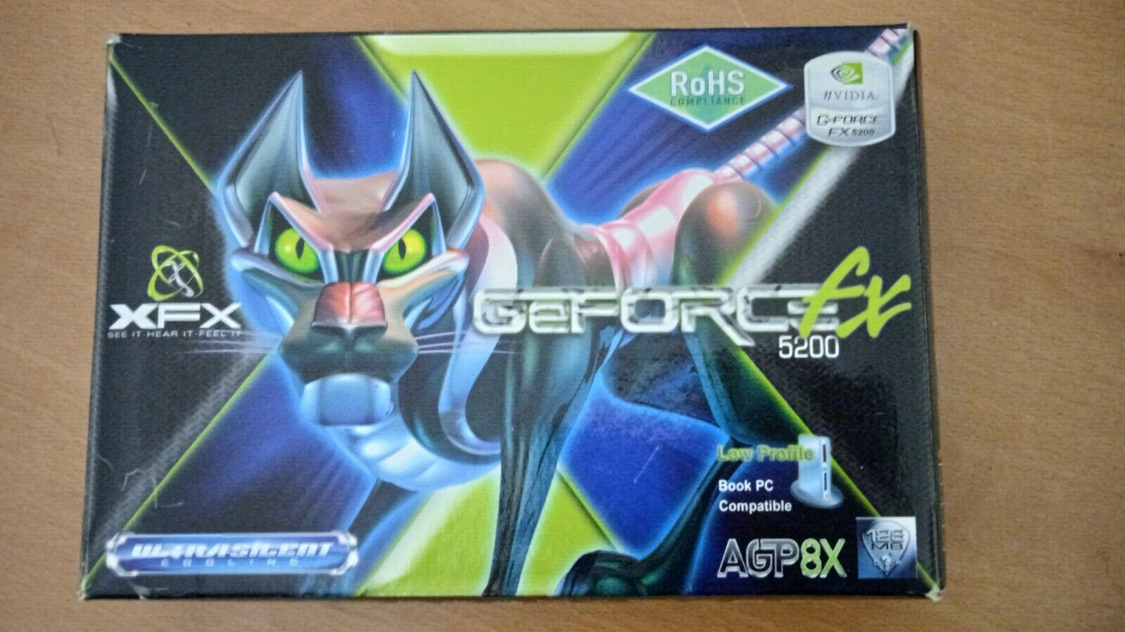Pine Technology XFX GeForce FX 5200 (128 MB) (PV-T34K-NTHG) Graphics Card