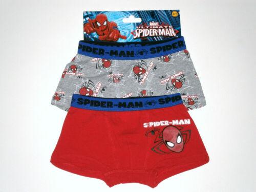 ULTIMATE Spider-man Boys Pantaloncini Boxer; 2 Paia ufficiale Marvel Merchandise