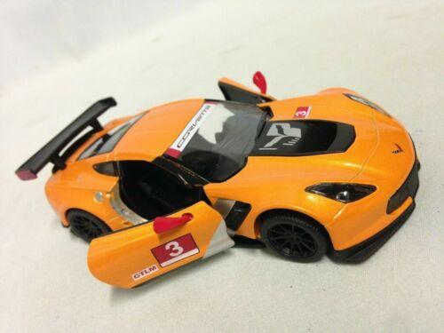 Diecast Toy Car 1//36 Chevy Corvette C7 R 2016 Chevrolet Corvette C7.R 5/'/'
