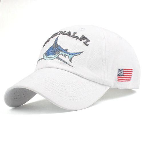 Basecap Coole Mütze Unisex Must-Have Vintage Baseball Yachting Hai Martim USA