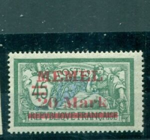 Memel-auf-franzoesischer-Marke-Nr-39-I-postfrisch