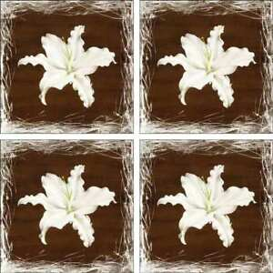 Lily-Flower-Accent-amp-Decor-Tile-Set-Cody-Floral-Ceramic-Backsplash-POV-BCA010AT