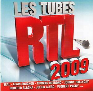 Compilation-CD-Les-Tubes-RTL-2009-France-M-EX