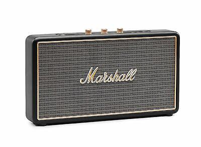 Marshall Stockwell Portable Rechargeable Bluetooth Speaker - Black