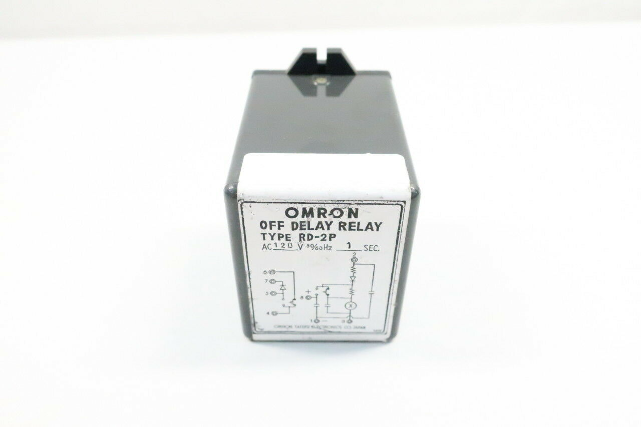 Omron Rd2p Off Delay Relay Type Rd 2p Ebay Rangkaian On