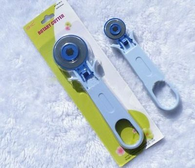 45mm Rotary Cutter,Quilters Sewing Fabric Leather Craft Cutting Tool,Blade NEW