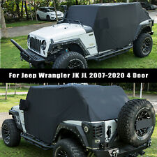 Cab Cover Car Cover All Weather Vehicle Cover For 2007 2022 Jeep Wrangler Jk Jl Fits Jeep