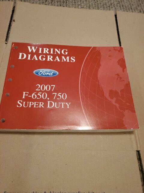 2007 Ford F650 F750 Superduty Truck Wiring Diagrams Shop