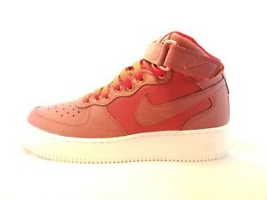 Nike Air Force 1 Mid Level 8 (GS) Kid s Fashion Shoe 820342 600 Size ... 4ed556050