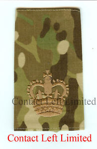 New Multicam MTP British Forces Lieutenant RANK SLIDE