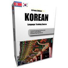 LEARN TO SPEAK KOREAN LANGUAGE TRAINING COURSE PC DVD NEW