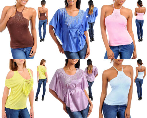 New Lot Womens Juniors Lace Ruffle Short Sleeve Cover up Top Shirt Blouse S M L