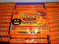Reese's Peanut Butter Cup Pumpkins 6 Pack Milk Chocolate 7.2 oz Total BB 7/2017